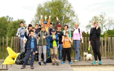 CPOS se je aktivni vključil v akcijo Očistimo Slovenijo